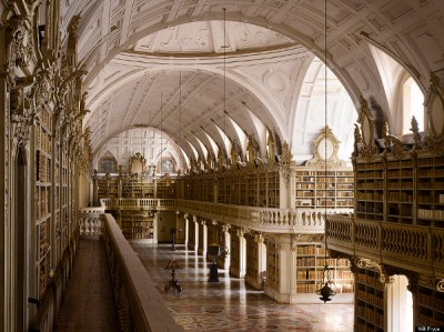 National Palace Library Mafra, Portugal