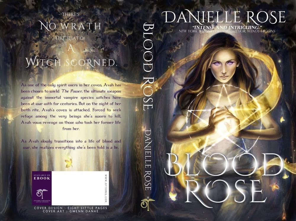 Blood Rose - full Cover