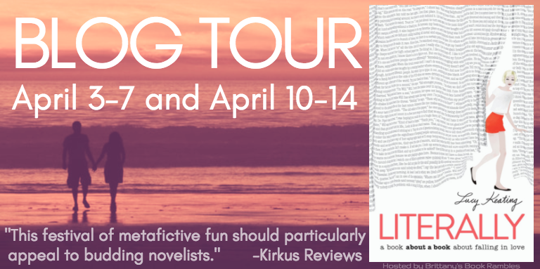 LITERALLY tour banner - Lucy Keating