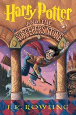 Harry Potter and the Sorcerer's Stone (Harry Potter #1) - 1/28/97 by J.K. Rowling Original Mary GrandPre' cover design